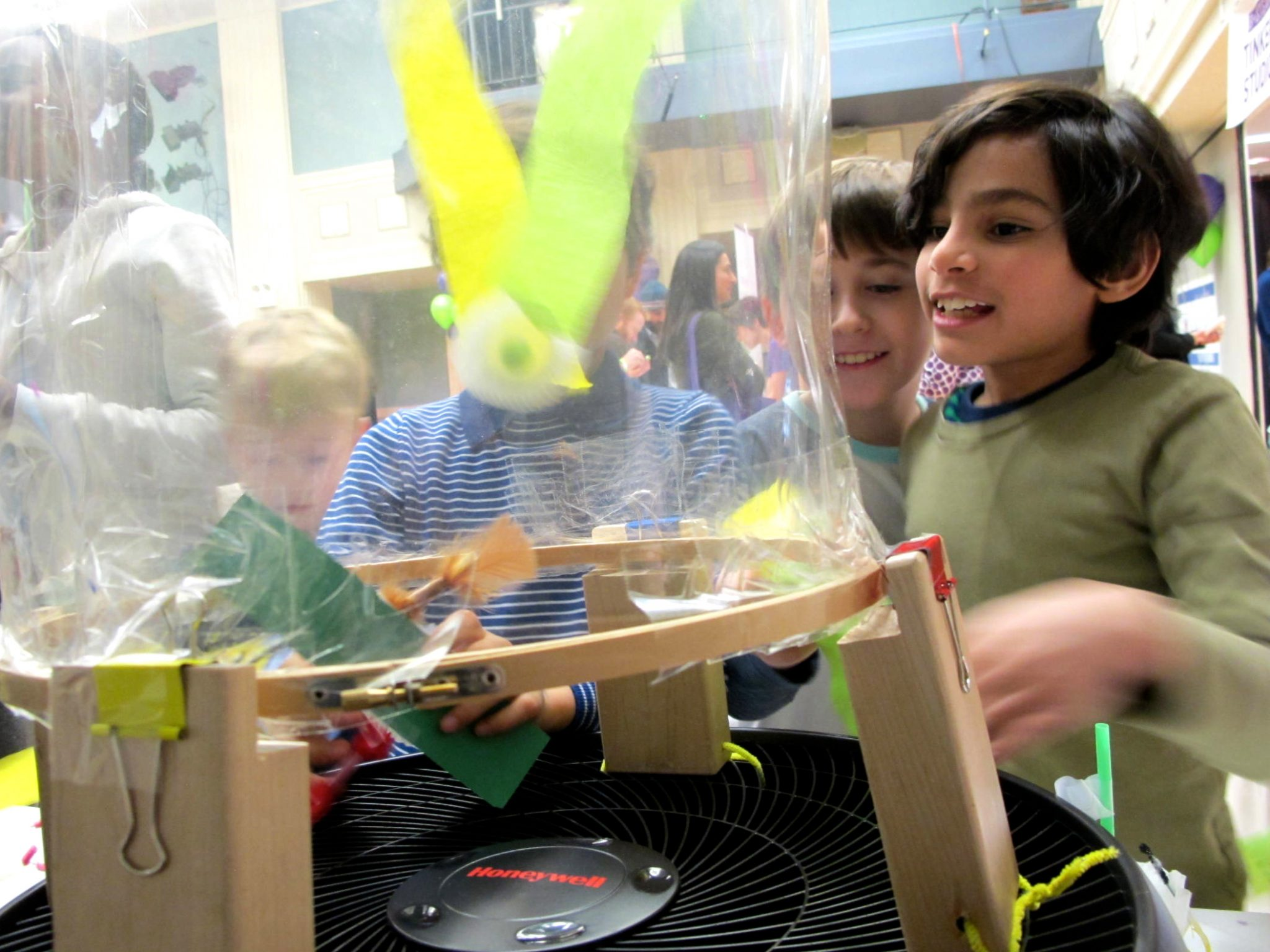 Kids Engineer! Wind-Powered Inventions at the Wind Tube Challenge — B+STEAM, The Brearley School, New York City
